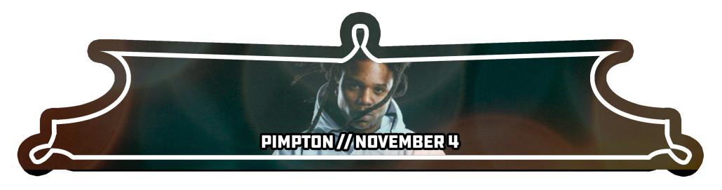 pimpton event bann
