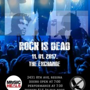 rock is dead poster small